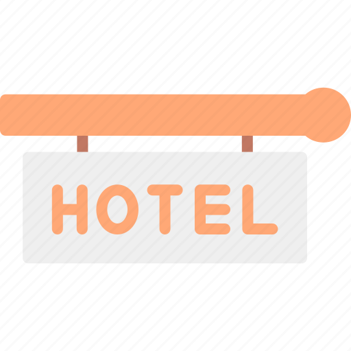 Hotel, service, sign icon - Download on Iconfinder