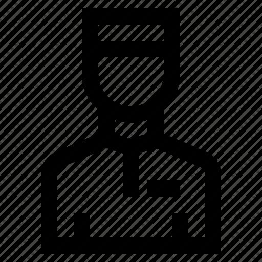 bellboy, help, hotel, service, support icon