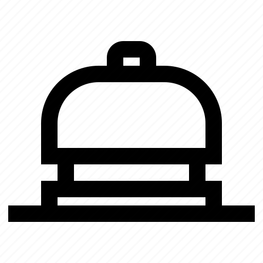 bell, hotel, reception, ring, service icon