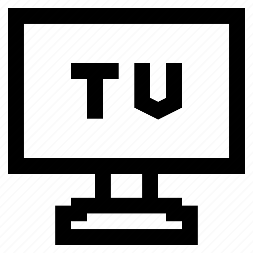 lcd, led, monitor, television, tv icon