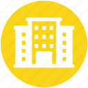 building, commercial building, guest house, hotel, hotel building, real estate icon