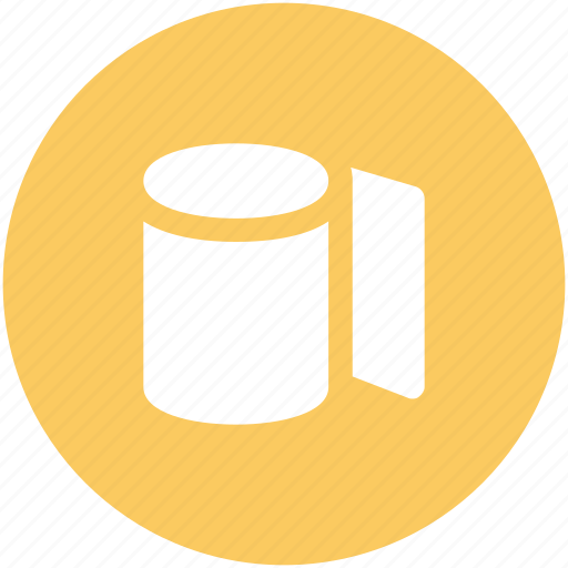 Bathroom, cleaning, paper roll, tissue paper, tissue roll, toilet paper icon - Download on Iconfinder
