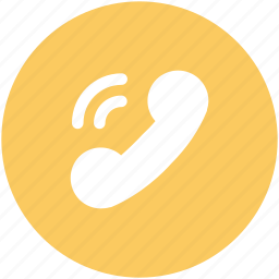call, phone receiver, phone ringing, receiver, technology, telecommunication icon