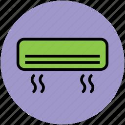 ac, air conditioner, electronics, home appliances, split ac icon