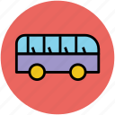 bus, mini van, minibus, public transport, transport, van icon