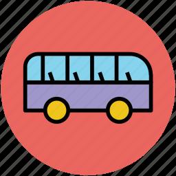bus, mini van, minibus, public transport, transport, van icon