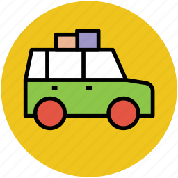 bus, minibus, transport, travel, travelling, van icon