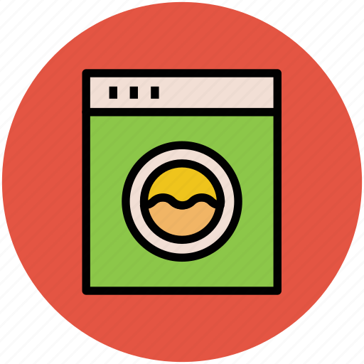 clothes dryer, electronics, home appliance, laundry machine, washer dryer, washing machine icon