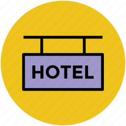 five star hotel, hotel, hotel signboard, luxury hotel, signboard icon