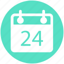 agenda, appointment, calendar, daybook, wall calendar icon