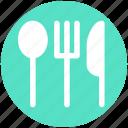 dining, flatware, fork, knife, spoon, tableware
