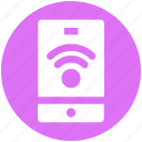 communication, mobile, mobile signals, signals, wifi icon