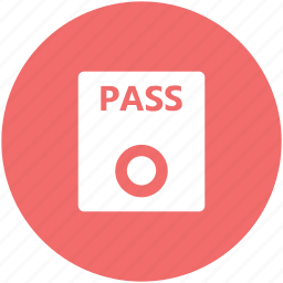 access pass, entertainment, id pass, pass, show pass, tickets icon