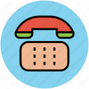 communication, landline, office telephone, telecommunication device, telephone icon