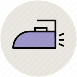 clothes pressing, electric iron, iron, laundry, laundry tool icon