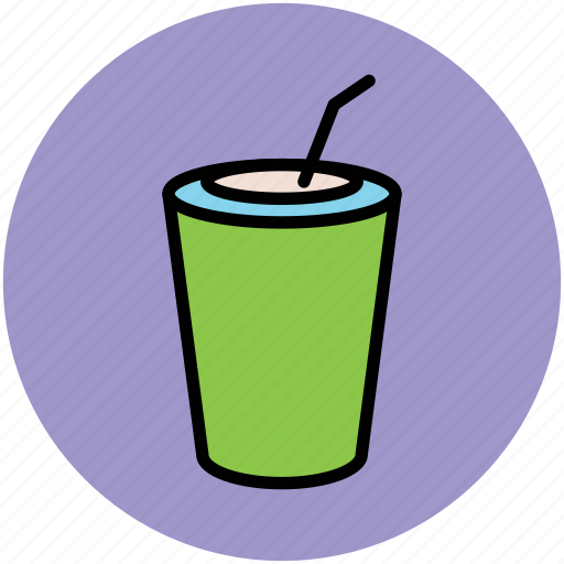 disposable cup, juice cup, paper cup, smoothie cup, takeaway coffee icon