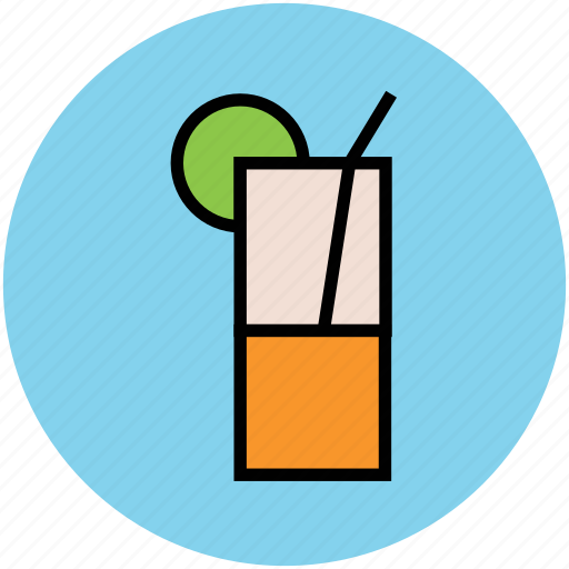 beach drink, drink, glass, juice, lemonade, soft drink, summer drink icon