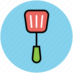 cooking spoon, slotted spatula, spatula, spoon, turner spoon, utensil icon
