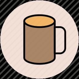 coffee mug, cup, hot beverage, hot drink, mug, tea mug icon