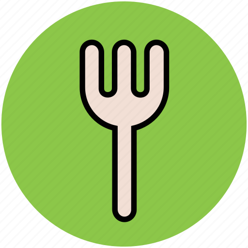 cutlery, eating, flatware, fork, kitchen, tableware, utensil icon