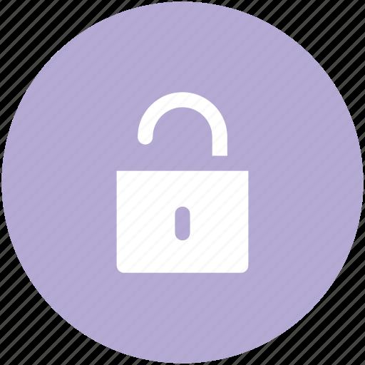 Access, padlock, unlock, unlocked padlock, password, open icon