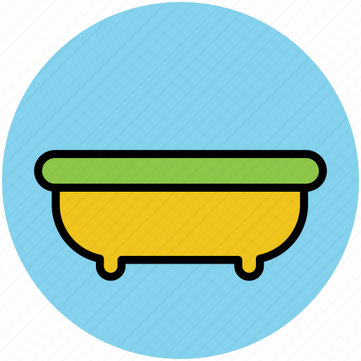 bath, bathroom, bathtub, jacuzzi tub, shower icon