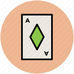 casino, diamond card, gambling, playing card, poker card icon