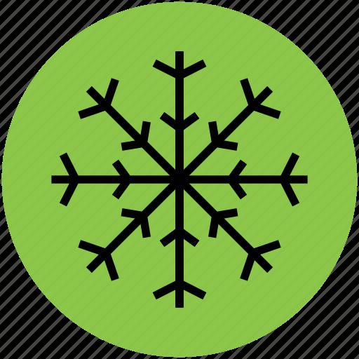 crystal flake, ice crystal, ice flake, snowflake, winter, winter flake icon