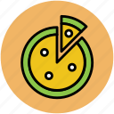 fast food, food, italian food, junk food, pizza, pizza with slice icon