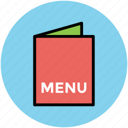 cuisine menu, food menu, menu, menu card, restaurant menu icon