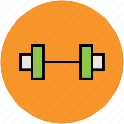 barbell, dumbbell, exercise, fitness, haltered, weight lifting icon