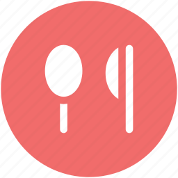 cutlery, eating, flatware, knife, restaurant, spoon, utensil icon