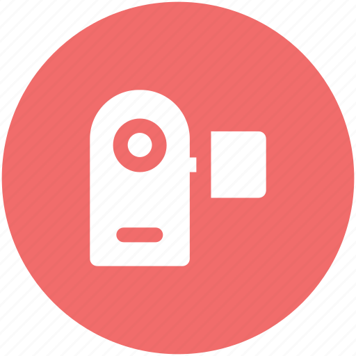 handycam, movie camera, video camera, video maker icon