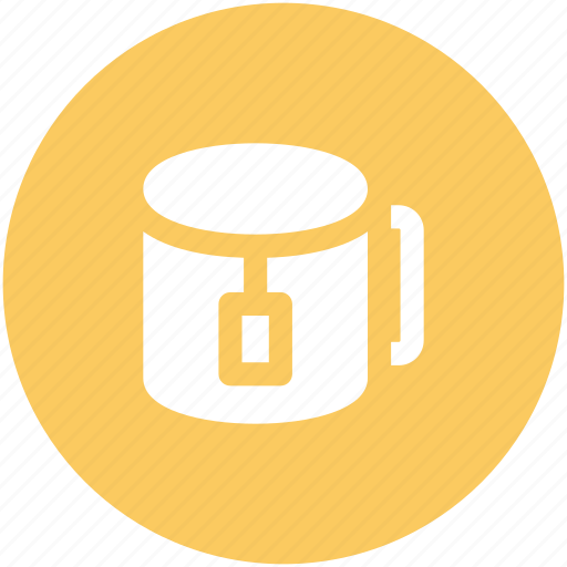 hot tea, tea, tea bag, tea cup, tea pack icon