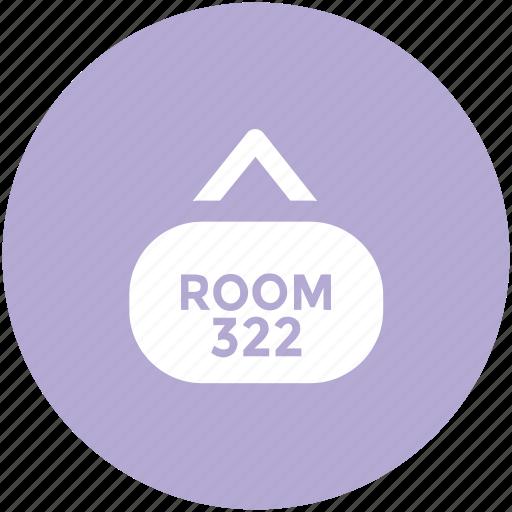 hanging board, info board, room board, room number, signboard icon