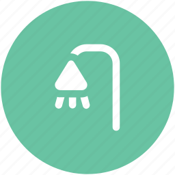 bath, bath sprinkler, bathroom, body care, shower, shower head, water drops icon