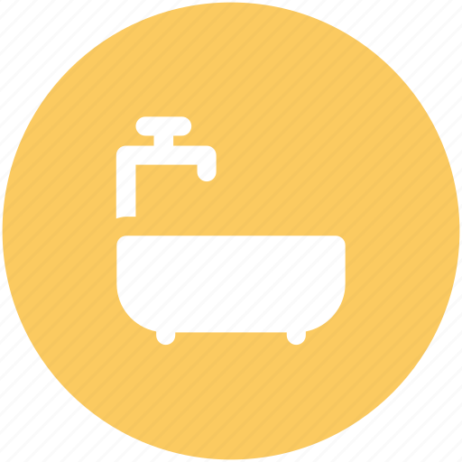 bath, bathing tub, bathroom, bathtub, shower, shower tub, tub icon