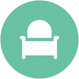 armchair, furniture, recliner, seat sofa, settee, settee sofa, sofa icon