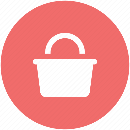 bucket, pail, pot, water, water bucket icon