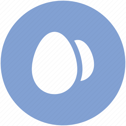 breakfast, chicken eggs, dairy food, eggs, food icon