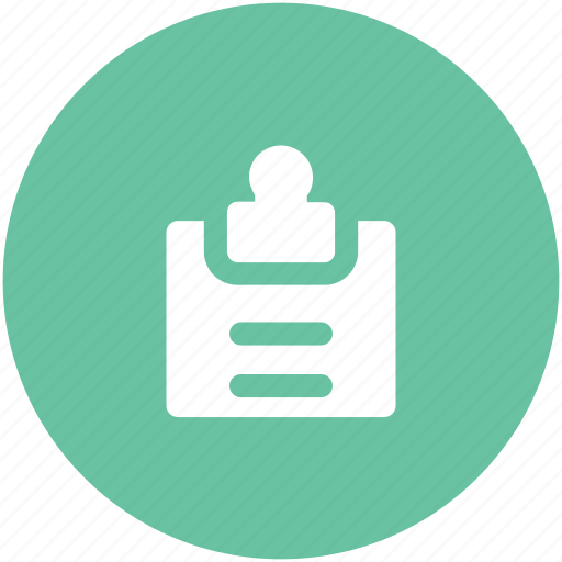 clipboard, management, notes, papers, planning, strategy directory icon