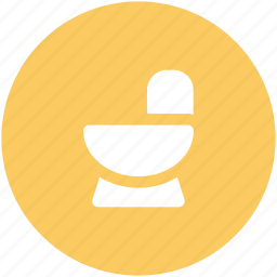 bathroom, commode, commode toilet, restroom, washroom icon
