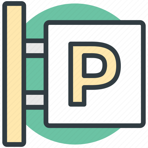 parking area, parking info, parking sign, parking signboard, road sign icon