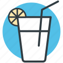 drink, lemon juice, lemonade, orange juice, refreshing juice icon