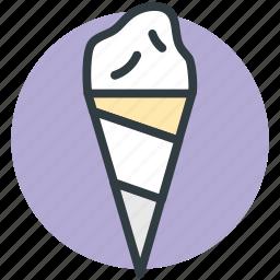 cake cone, cone, cup cone, ice cone, ice cream icon