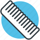 comb, hair comb, hair salon, hair style, hairdressing icon