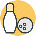 bowling pins, hitting pins, bowling game, alley pins, bowling ball icon
