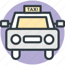 cab, car, taxi, taxi van, vehicle icon