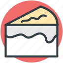 bakery food, cake piece, dessert, frozen dessert, sweet food icon