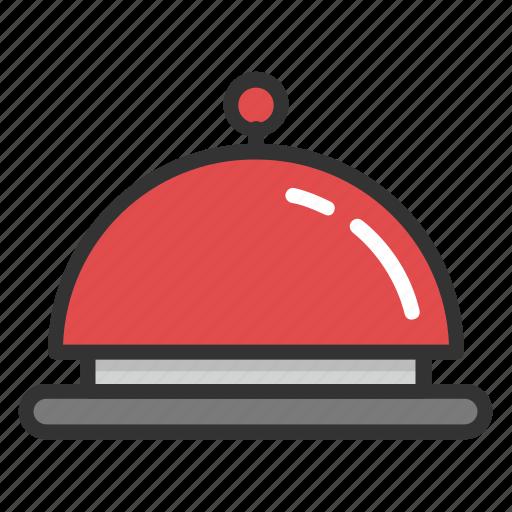 chef platter, cloche, food cloche, food serving, platter icon